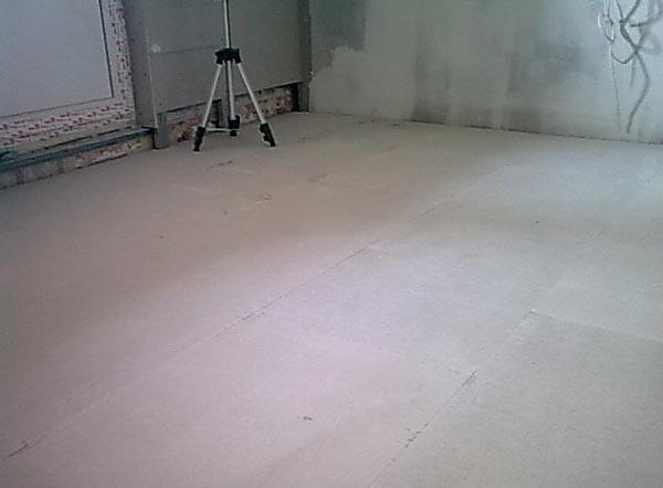 Комната готова к покрытию любым финишным слоем