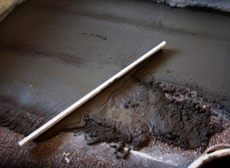 Как расчетать бетонную стяжку
