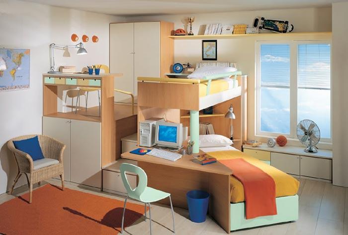 Дизайн комнаты для двух детей