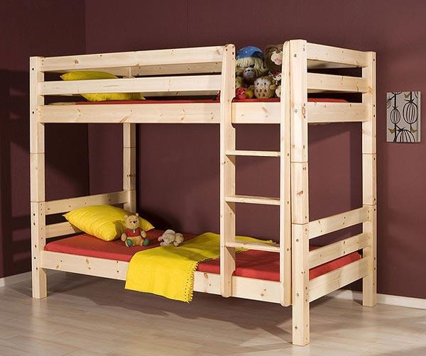 Сделать двухъярусную детскую кровать