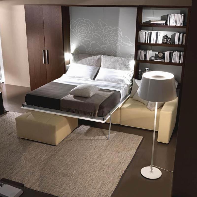 Дизайн который сэкономит пространство в гостиной