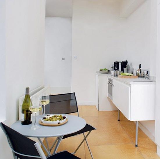 Интерьер кухни 7 м. кв.