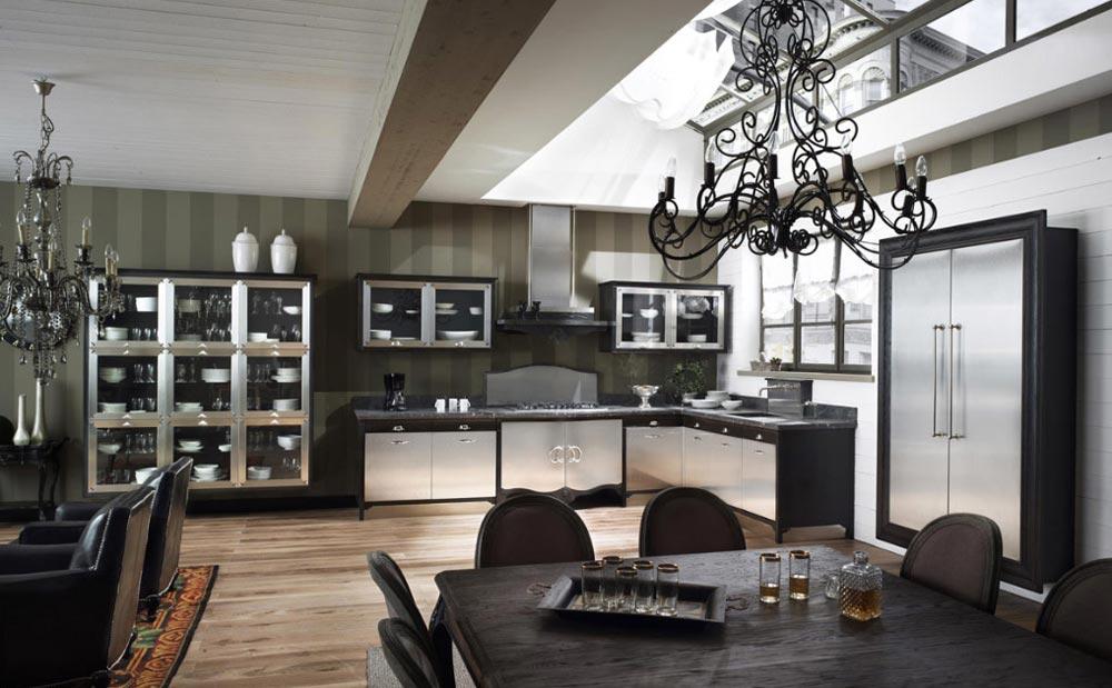 Кухня в элегантном классическом стиле