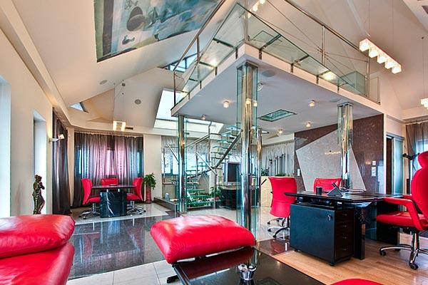 Дизайн квартиры студии в классическом стиле хай тек