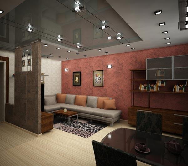 увеличиваем пространство в дизайне комнаты панельного дома