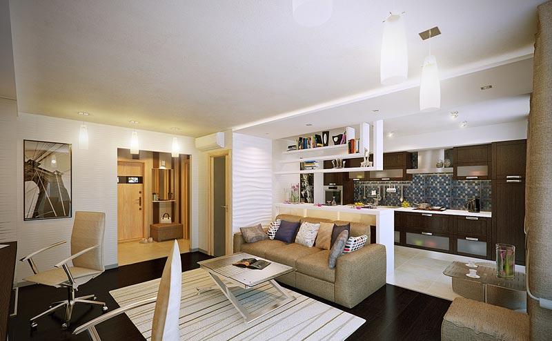 Дизайн 1 комнатной квартиры хрущевки - YouTube