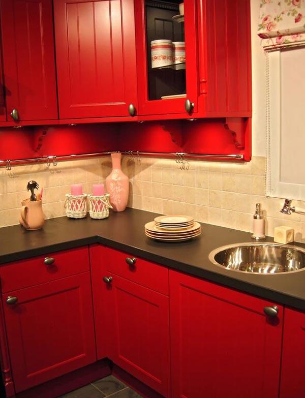 Кухня без холодильника выглядит менее грамоздко