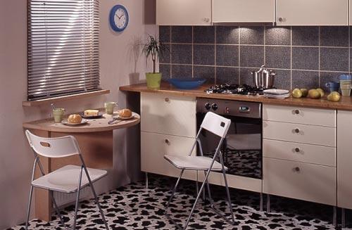 Правильно организовываем пространство на маленьких кухнях