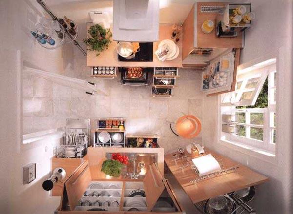 Сколько шкафчиков должно быть на кухне