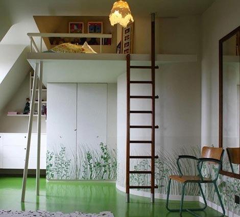 Дизайн квартиры со вторым ярусом