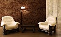 Выбор дизайна обоев для гостиной комнаты
