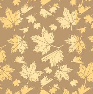 Фото пример обоев с элементами листьев