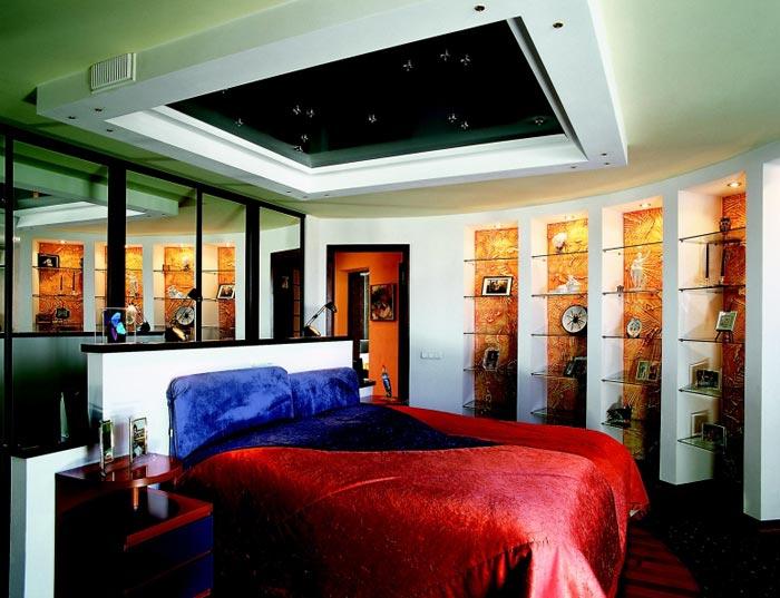 Интерьер дизайна спальни в квартире