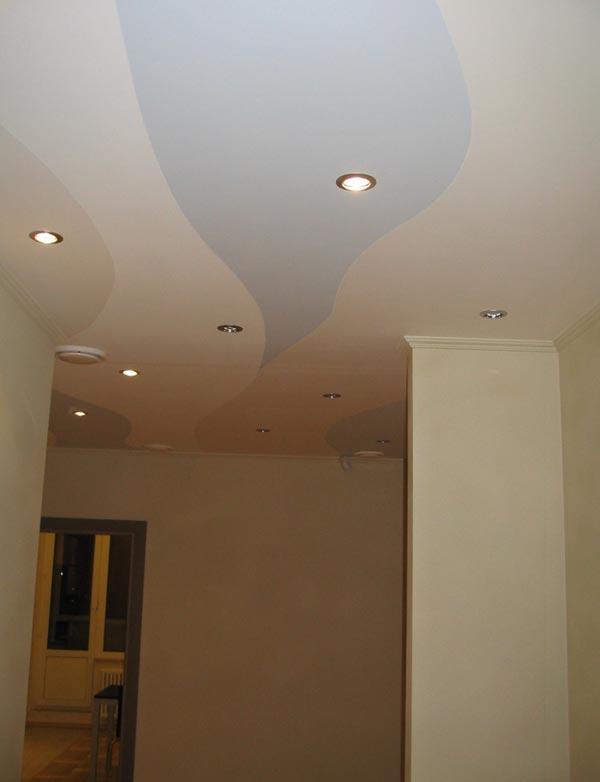Покраска потолков в дизайне интерьера