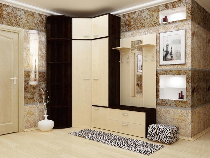 Интерьер гостиной спальни кухни 24