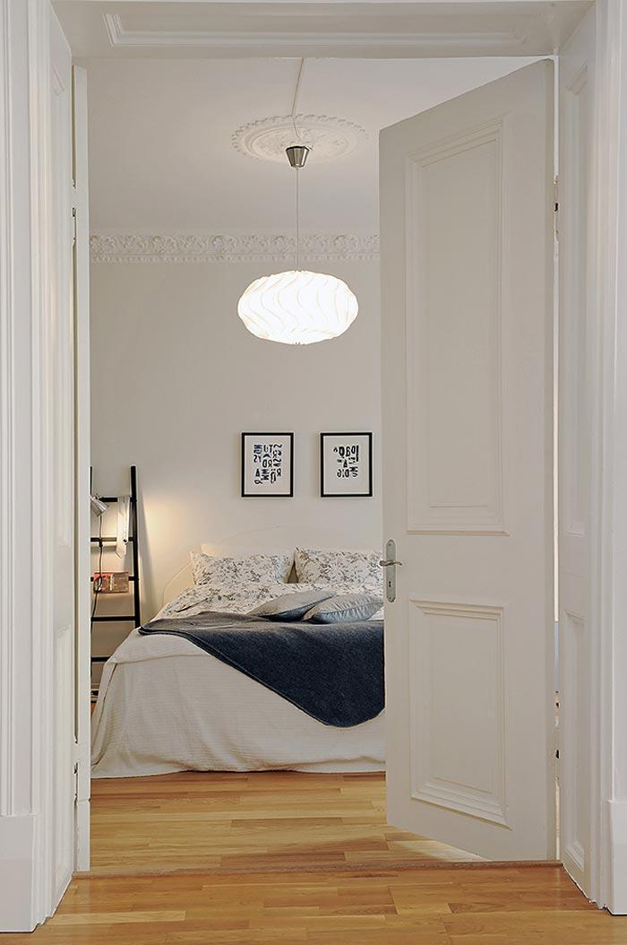 Уменьшение спальни в дизайне квартиры