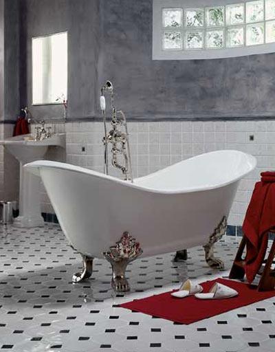 Ванная комната в едином стиле с квартирой