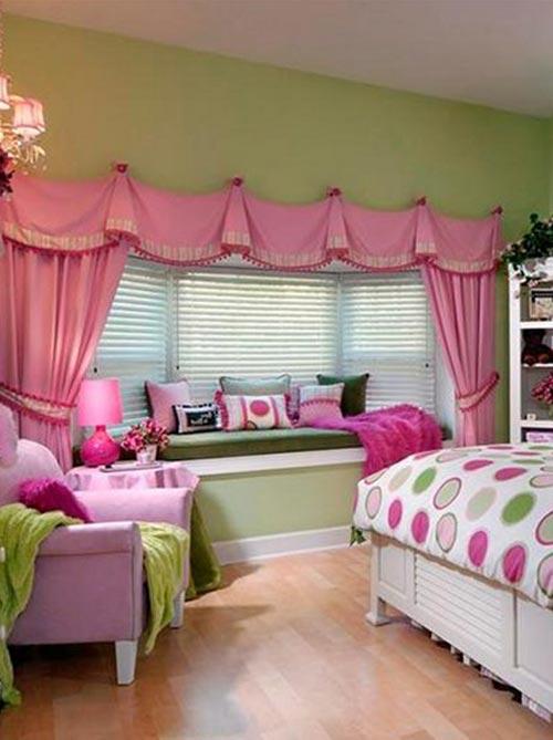 Разнообразие штор для детской комнаты
