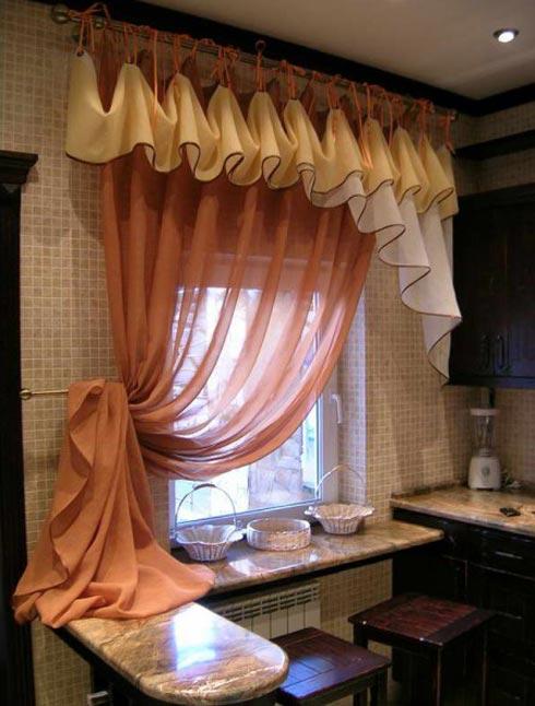 Что такое драпировка штор и как она выглядит