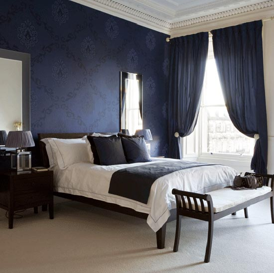 Интерьер спальной комнаты 16 м. кв.