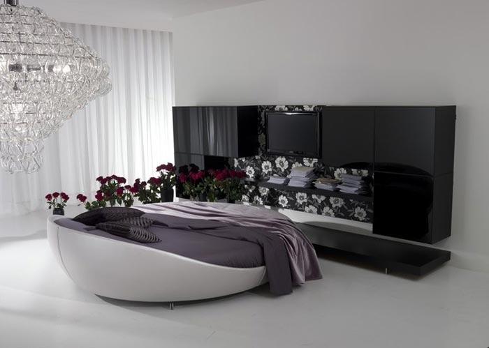 Дизайн спальни для бизнес леди в современном стиле