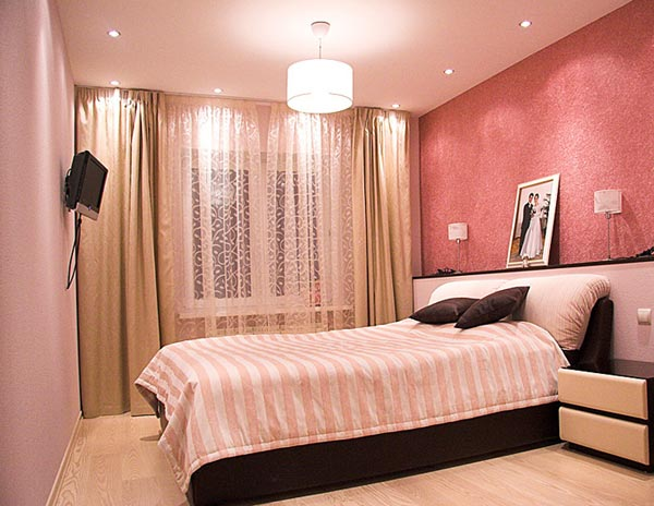 Цветовая палитра в дизайне спальной комнаты
