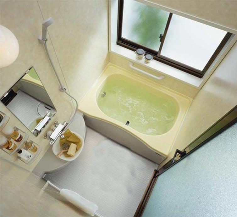 Дизайн маленькой ванной размером 3 м.кв.