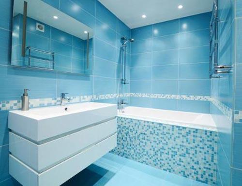 Дизайн ванной маленького размера без туалета