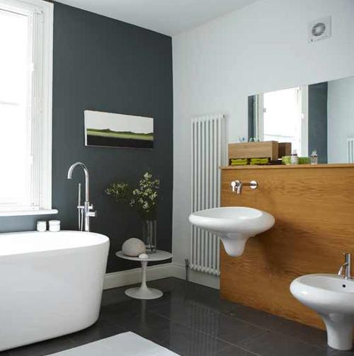 Современная сантехника в ванной комнате