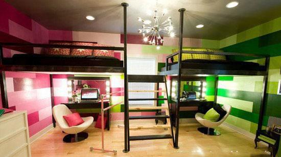 Дизайн комнаты для разнополых детей подросткового возраста
