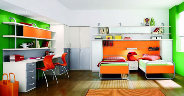 Дизайн одной комнаты для разнополых детей должен их объединять