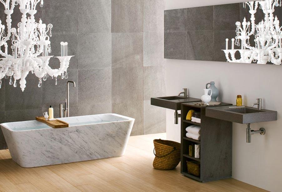 Интерьер дизайна ванной комнаты