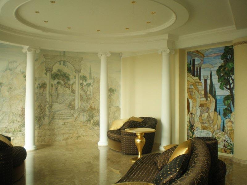 Дизайн интерьера в античном стиле