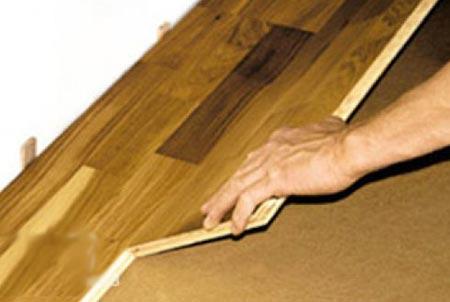 Укладываем ламинат на пол правильно стык в стык