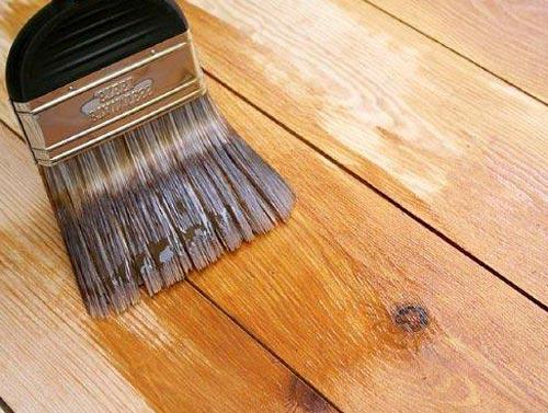 Обработка древесины специальной пропиткой