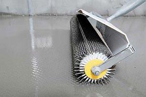 Дизайн шероховатого заливного пола