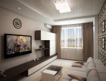 Дизайн-проект гостиной 20 м кв.