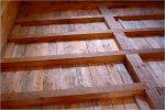 Каркас деревянного пола
