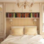Дизайн спальни 8 кв. м.