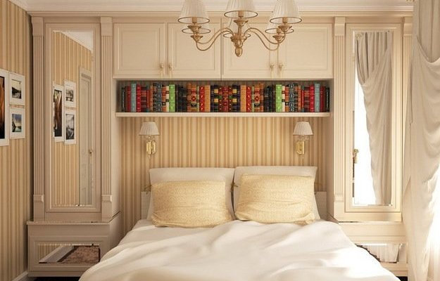 Дизайн-проект спальни 8 м кв.