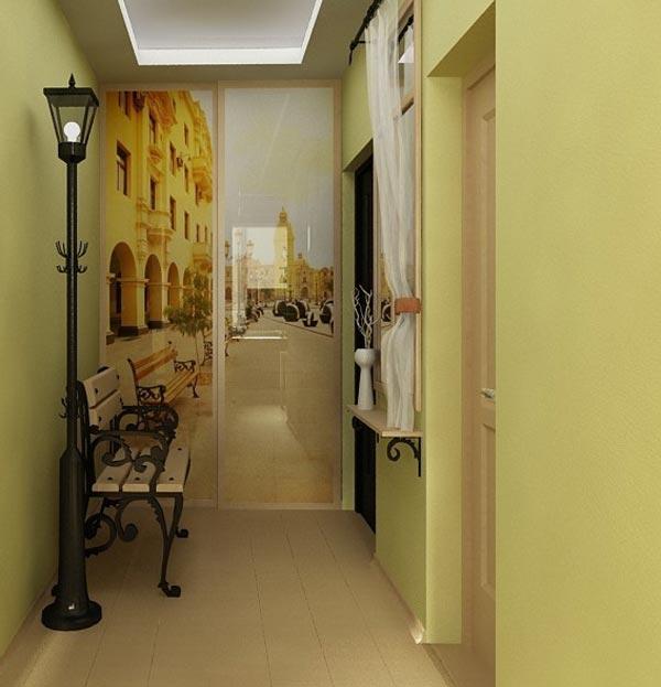 Фотообои для интерьера коридора фото