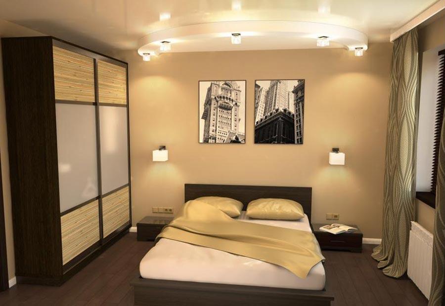 Интерьер спальни фото 12 кв метров фото