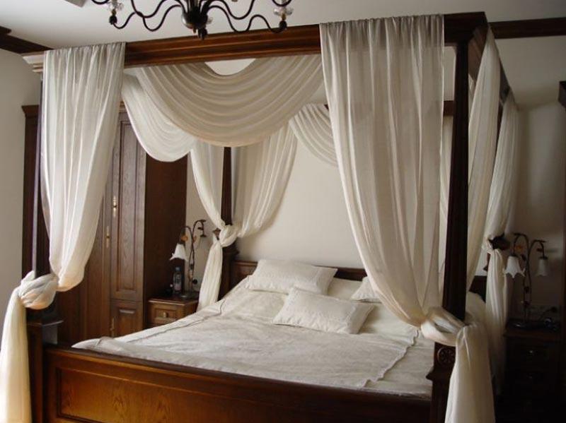 Кровати со шторами дизайн