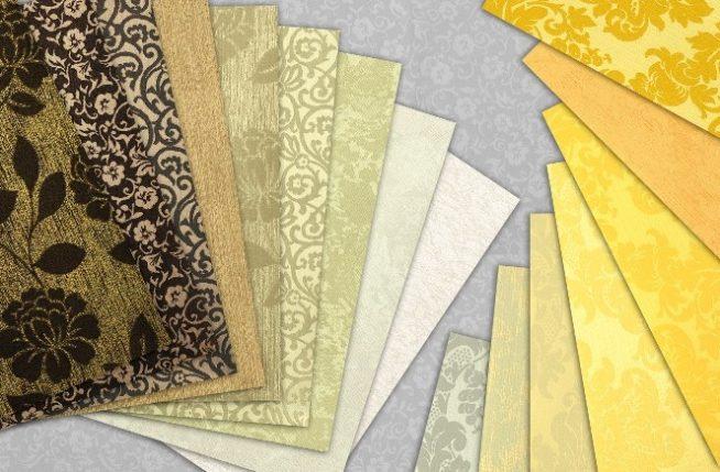 текстильные обои, драпировка стен тканью, декор стен тканью