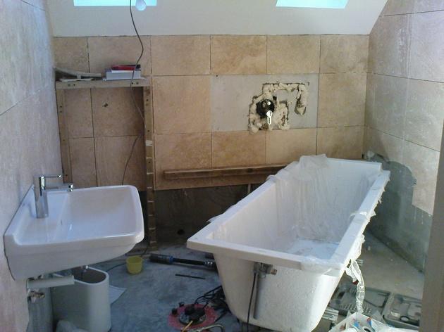 Ремонт в ванной как сделать