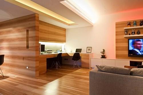 отделка деревом, обшивка деревянными панелями