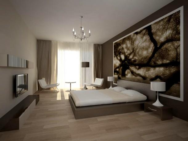 минимализм в спальне, спальня в стиле минимализма, интерьер в стиле минимализма