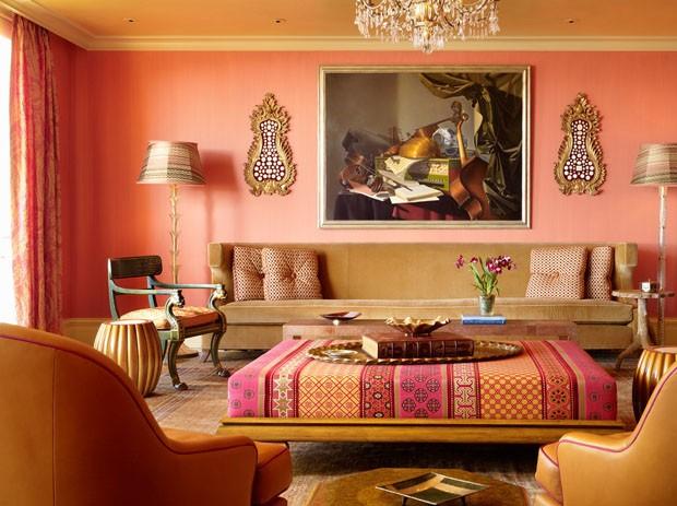 восточный стиль, восточный интерьер, дизайн интерьера, квартира в восточном стиле, яркий интерьер