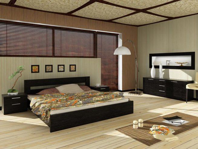 Кровать для спальни на платформе