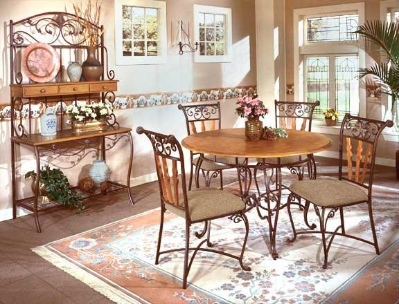 столовая в романтическом стиле